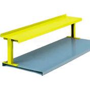 """Equipto® Production Booster 454T72-YL, W 72"""" X 14"""" H, 1 étagère, sécurité jaune"""