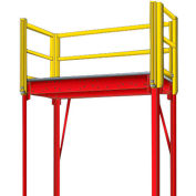 "Equipto 971-10 Platform Landing, 96"" x 48"", Floor Height 120"""