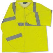 Aware Wear® ANSI Class 3 Windbreaker, 61576 - Lime, Size 5XL