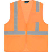 Aware Wear® ANSI Class 2 Economy Mesh Vest, 61659 - Orange, Size L