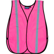 Wear® conscient Non ANSI Vest, 61728 - rose, unique taille