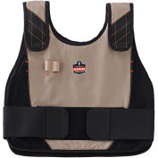 Ergodyne® Chill-Its® Phase Change 6225 Vest Only, Khaki, L/XL