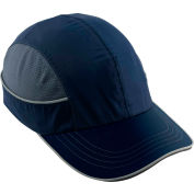 Ergodyne® Skullerz® 8950 Bump Cap, Navy, Long Brim, One Size
