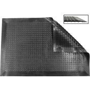 "Ergomat® Nitril Smooth Anti Fatigue Mat 1/2"" Thick 2' x 11' Black"