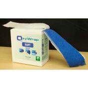 6 Roll Pack of OxyWrap Soft Blue, OXY6450-B-6