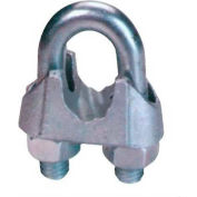 """Elite Sales DFC18 1/8"""" Drop Forged Wire Rope Clip - Pack of 50"""