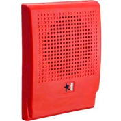 Edwards Signaling G4HFRN-S2, Wall Speaker, 25 V, Red