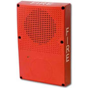 Edwards Signaling, WG4RF-S, Outdoor Speaker, Red, Fire