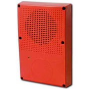 Edwards Signaling, WG4RN-S, Outdoor Speaker, Red, No Fire