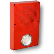 Edwards Signaling, WG4RN-SVMHC, Outdoor Speaker Strobe, Red, No Fire, Ho Cd