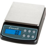 Escali L600 High Precision Digital Lab Scale, 600g x 0.1g, Stainless Steel Removable Top
