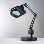 """Electrix 7428-5D 5-Diopter Halogen SLX Power Series Magnifier W/Weighted Base, 30"""" Reach, 120V, 100W"""