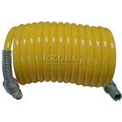 "Guardair 38X50B03 3/8"" x 50' Recoil Air Hose Nylon Yellow"