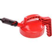 Oil Safe Mini Spout Lid, Red, 100408