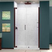 """Porte de douche pour le Pivot élégance DreamLine son-4154720-06, Bronze, 54-1/2 à 56-1/2 """"x 72"""""""