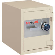 "FireKing 1-HR Fire and Burglary Rated Safe FB1612-1TAE 21-5/8""W x 17-4/5""D x 21-1/3""H  1.3 Cu. Ft."