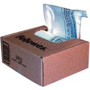 Fellowes Powershred® sacs de déchets pour professionnel et broyeurs Deskside