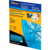 Fellowes®  Self-Adhesive Pouches - Photo, 5 Pack - Pkg Qty 10