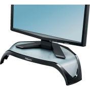 Fellowes® 8020101 Smart Suites™ Corner Monitor Riser, Black - Pkg Qty 2