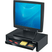 Fellowes® 8038101 Suites™ concepteur surveiller Riser, noir/perle, qté par paquet : 2