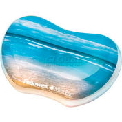 Fellowes® 9179501 Photo Gel Utility Wrist Rest with Microban® Protection, Sandy Beach - Pkg Qty 4