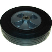 """Rubbermaid® 12"""" Wheel with Hardware Includes (1) 12"""" Wheel, (2) Washers, (1) Axle Nut"""
