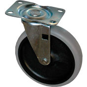 """Rubbermaid® 5"""" Swivel Plate Replacement Caster"""