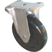 """Rubbermaid® 5"""" Rigid Plate Caster with Hardware Includes (1) Caster and (1) Hardware Kit"""