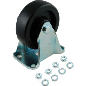 """Rubbermaid® 4"""" Rigid Plate Caster for Rubbermaid®Utility Truck"""