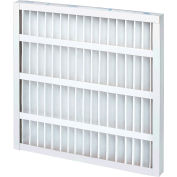 """Global Industrial™ Standard Capacity Pleated Air Filter, MERV 8, Self-Supported, 18""""Wx24""""Hx2""""D - Pkg Qty 12"""