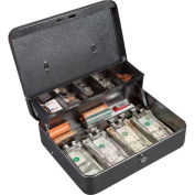 FireKing Hercules CB1210 Cash Box Keylock 5 Compartments Lift Out Tray, 11-3/4x10x4