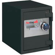 "FireKing 1-HR Fire and Burglary Rated Safe FB1612-1GRE 21-5/8""W x 17-4/5""D x 21-1/3""H 1.3 Cu. Ft."