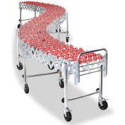 NestaFlex® 22614008P Flexible Conveyor - Poly Skate Wheels Steel Ball Bearings 226 Lb. per ft.