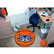 "Rice Basketball Rug 29"" Dia."
