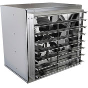 "Fantech 30"" Standard Duty Wall Mount Cabinet Fan 1WMC30E2, 3/4 HP, 115V, 1 PH, 8645 CFM"