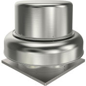 "Fantech 16"" Roof Ventilator Belt Drive Downblast 5BDD16EB-A, 3/4 HP, 115/230V, 1 PH, 3229 CFM, ODP"