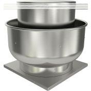 "Fantech 15"" Roof Ventilator Belt Drive Upblast 5BDU15FB-A, 1 HP, 115/230V, 1 PH, 3094 CFM, ODP"