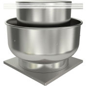 "Fantech 20"" Roof Ventilator Belt Drive Upblast 5BDU20HX-A, 2 HP, 208/220V, 3 PH, 5902 CFM, ODP"