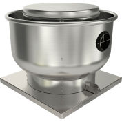 "Fantech 18"" Roof Ventilator Direct Drive Upblast 5DDU18EB, 3/4 HP, 115/230V, 1 PH, 3918 CFM, ODP"