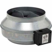 "10"" In-Line Duct Fan With Metal Housing 513 CFM"
