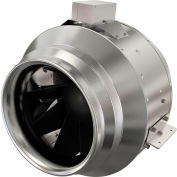 "Fantech Inline Mixed Flow 16"" Duct Fan FKD 16, 115V, 2952 CFM"