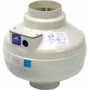"""Inline Centrifugal 4"""" Duct Fan Molded Housing - 122 CFM"""