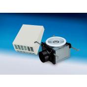 "Fantech Bath Fan (Exterior Mount) Vent Only Ceiling Grille PBW110, 115V, 1 PH, 110 CFM, 4"" Duct Duct"