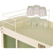 Forbes Vinyl Dipped Glass Rack, Beige - 2331-B - Pkg Qty 2
