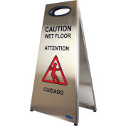 Frost Stainless Steel Wet Floor Sign 1119