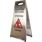 Frost Stainless Steel Wet Floor Sign 1119