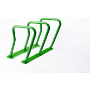 Surf 6 Bike Capacity Steel Bike Rack, Green