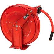 Dévidoir de tuyau à basse pression à enroulement automatiqueFlorida Pneumatic 6802, 1/2 po x 50 pi, 300 psi
