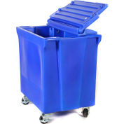 ColdStor™ 8002525 Ice & Beverage Bin-Body and Casters, Blue