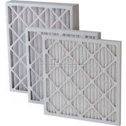 """Filtration, fabrication 0208H-16254 plissé filtre Merv 8, haute capacité, W 16"""" x 25 «H x 4"""" P, qté par paquet : 6"""